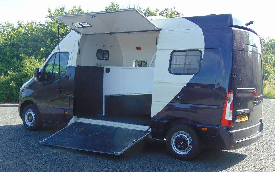 Horsebox For Sale Built On Automatic Chassis