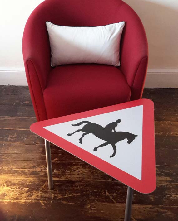 Horse Sign Coffee Table