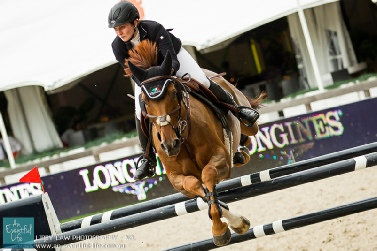 Louise Saywell and Feigtling Win Ladies At Scope Festival