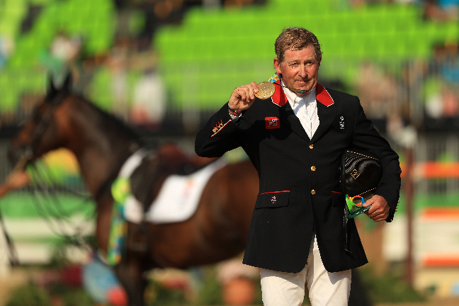 Nick Skelton and Big Star Win Gold In Rio
