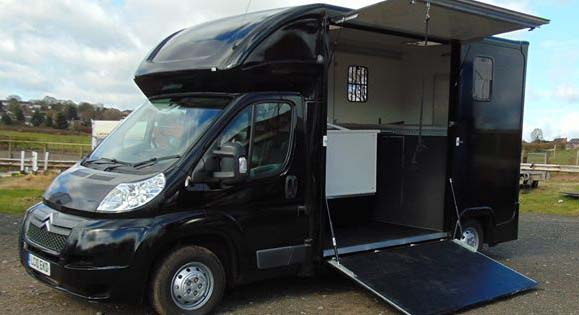 Self Drive Horsebox Hire South West