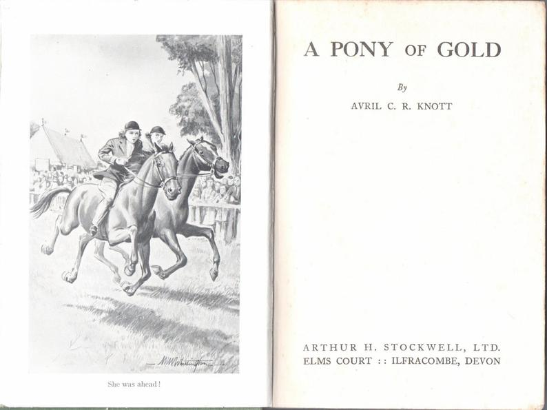 A Pony of Gold by Avril Knot