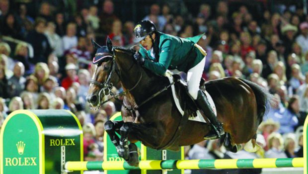 Abdullah Al Sharbatly and Hickstead - World Equestrian Games
