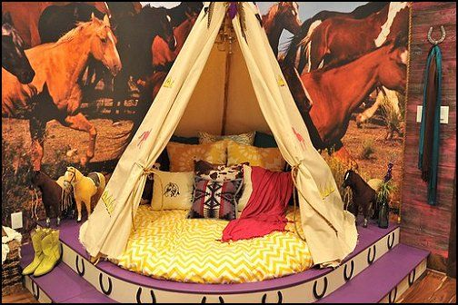 American Indian Themed Bedroom