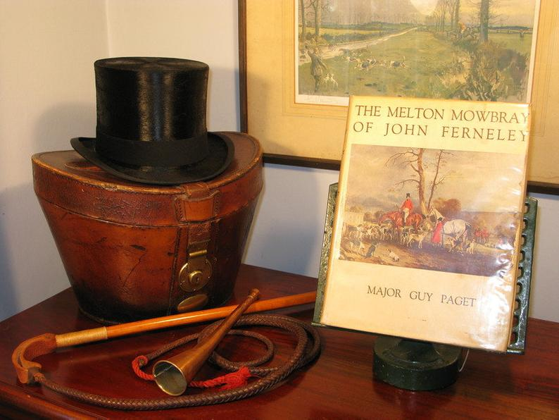 Antique Vintage Edwardian Book 1st Ed 1931 The Melton Mowbray Of John Ferneley by Major Guy Paget Equestrian
