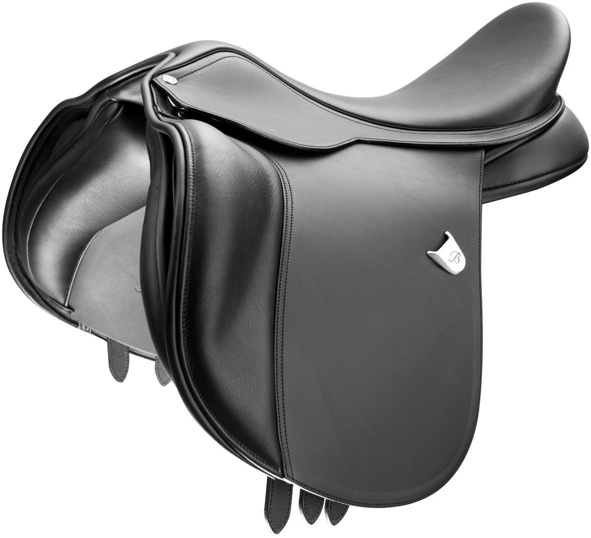 Bates Wide Fit Saddle with CAIR and Easy Change Fit Solution