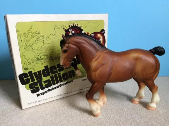 Breyer Clydesdale Stallion
