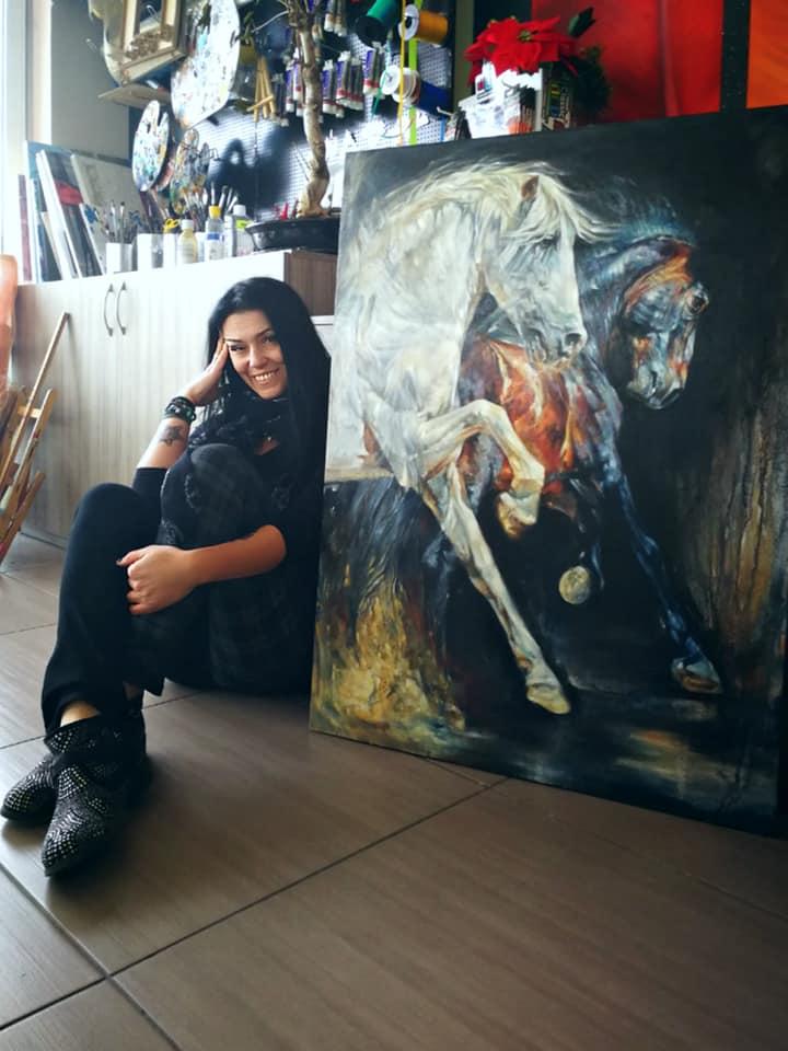 Equine Art by Daniela Nikolova-Sidiropoulou