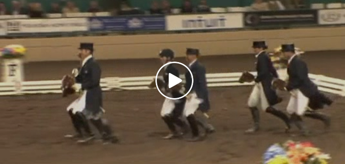 World Class Dressage Stick Horse Quadrille