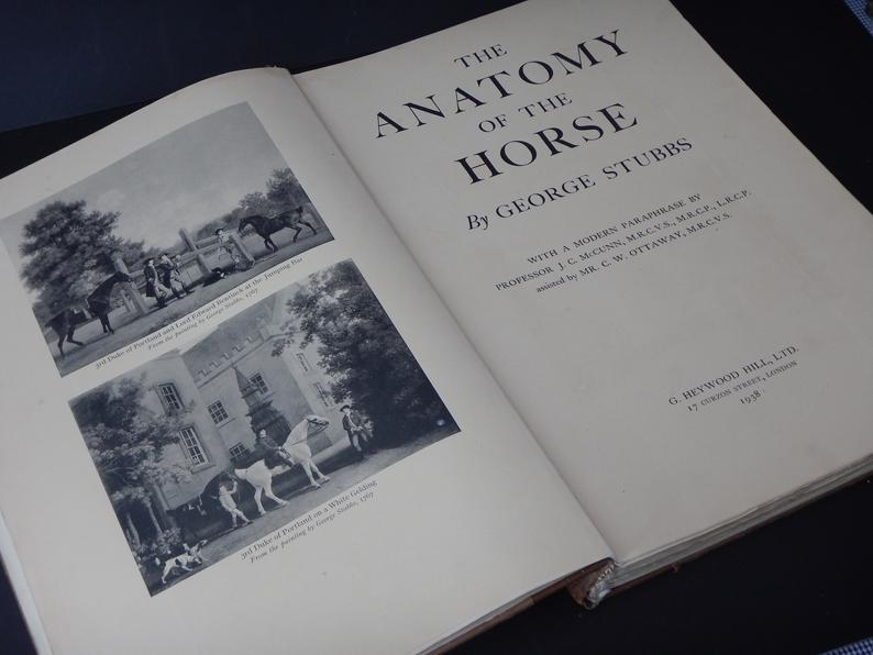 George Stubbs - The Anatomy of a Horse - fourth edition
