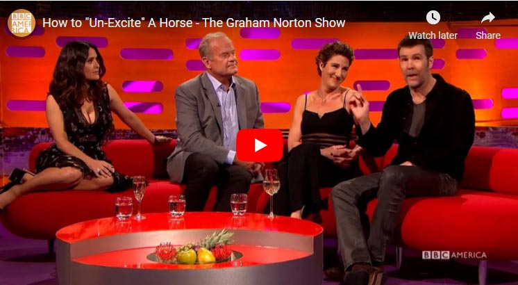 How to Un-Excite A Horse - The Graham Norton Show