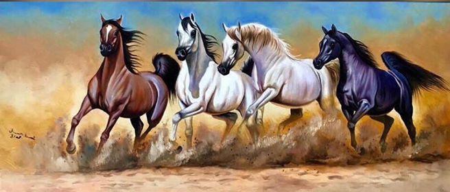 Jamal Daoub - Horse Artist