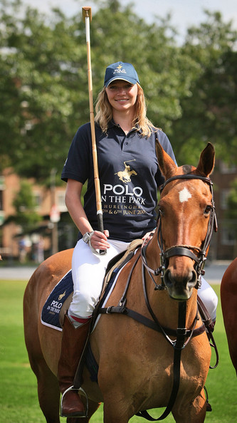 Jodie Kidd Polo Player