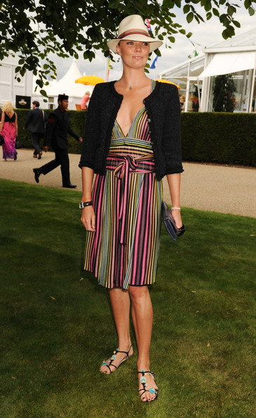 Jodie Kidd at the Races