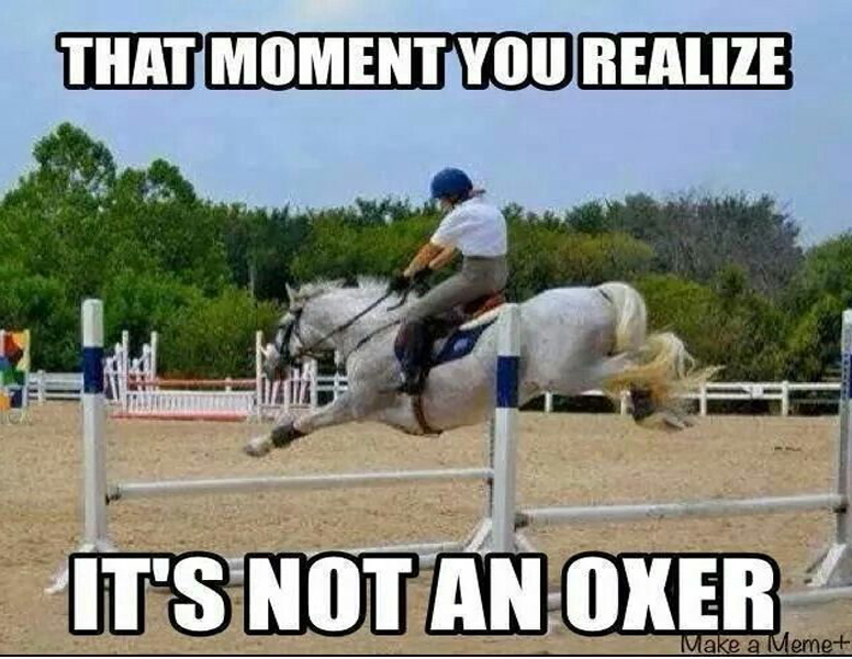 Jumping Oxers
