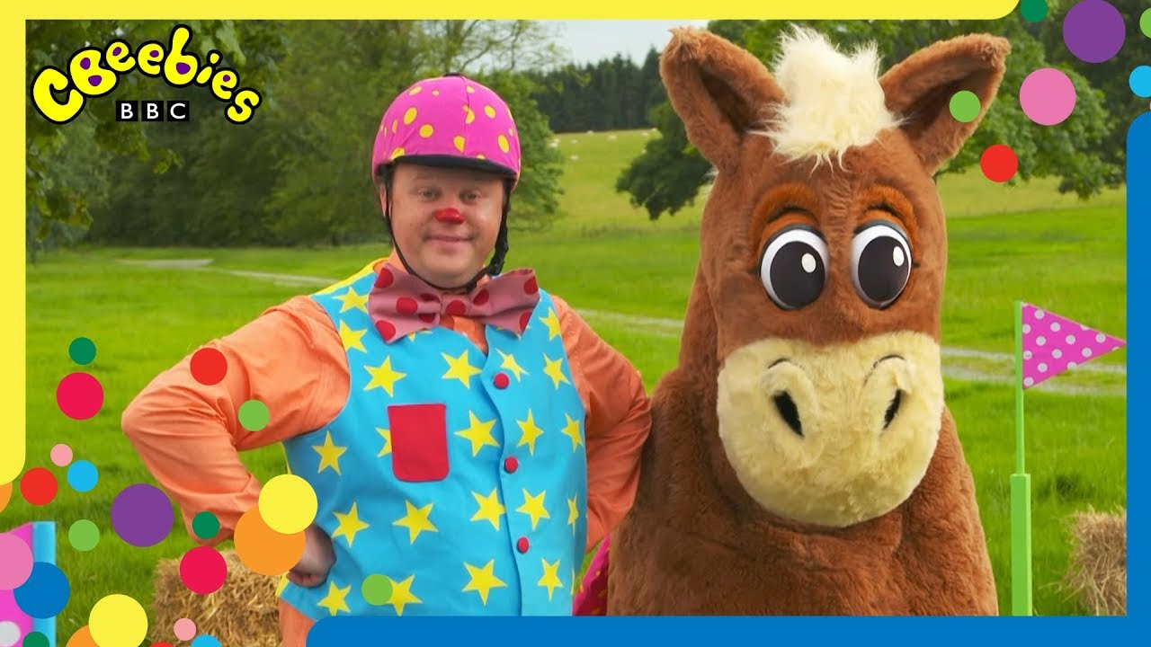 Mr Tumble Meets Spotty The Horse