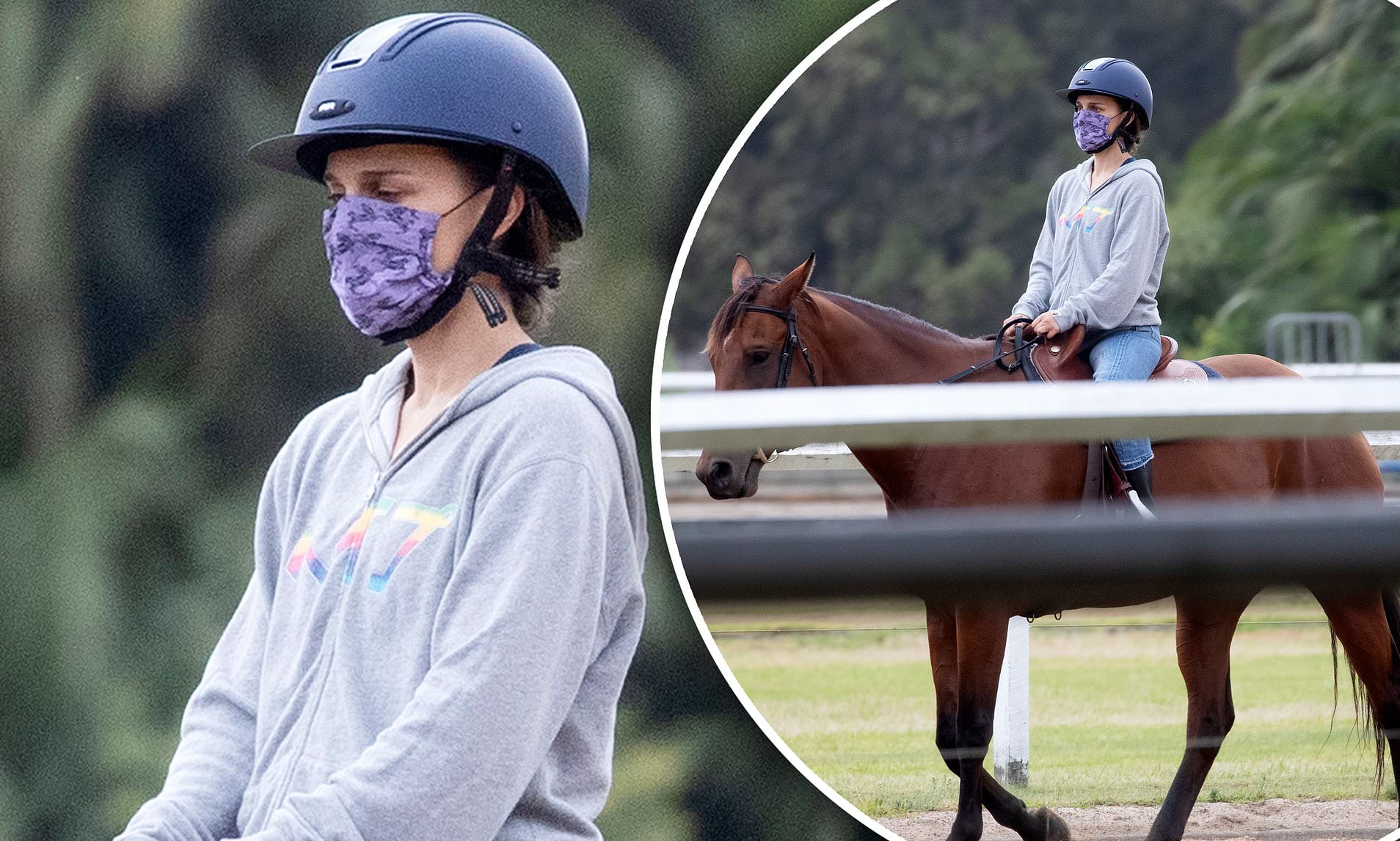 Natalie Portman Horses
