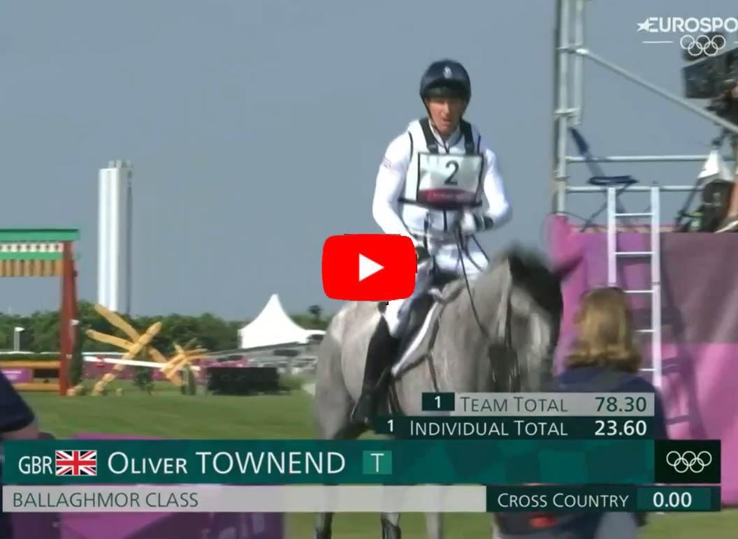 Oliver Townend - Tokyo Olympics