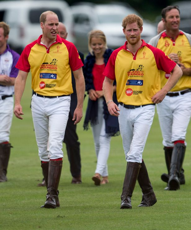 Prince Harry and Prince William - Polo