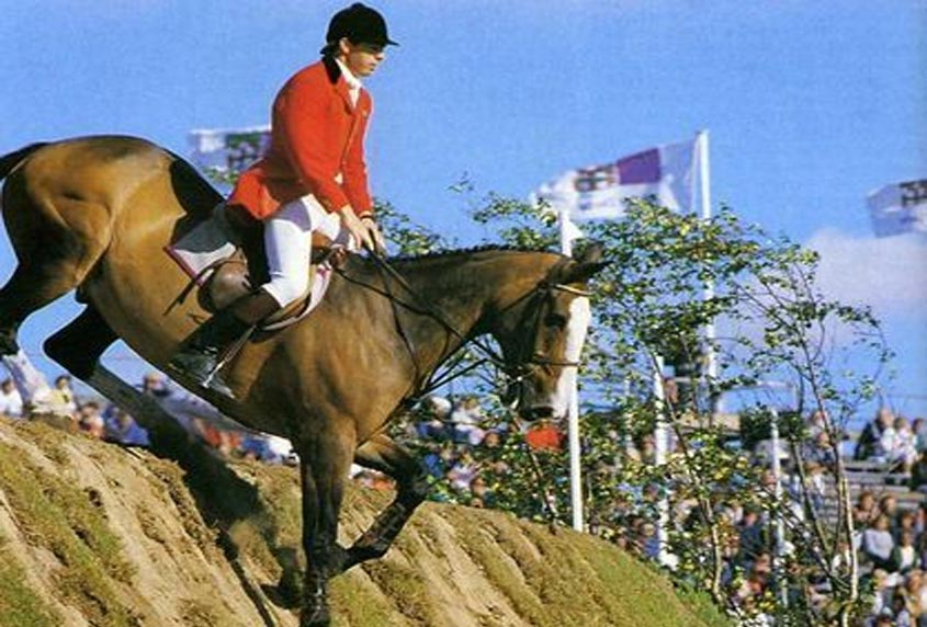 John Whitaker & Ryans Son In The 1986 Hickstead Derby