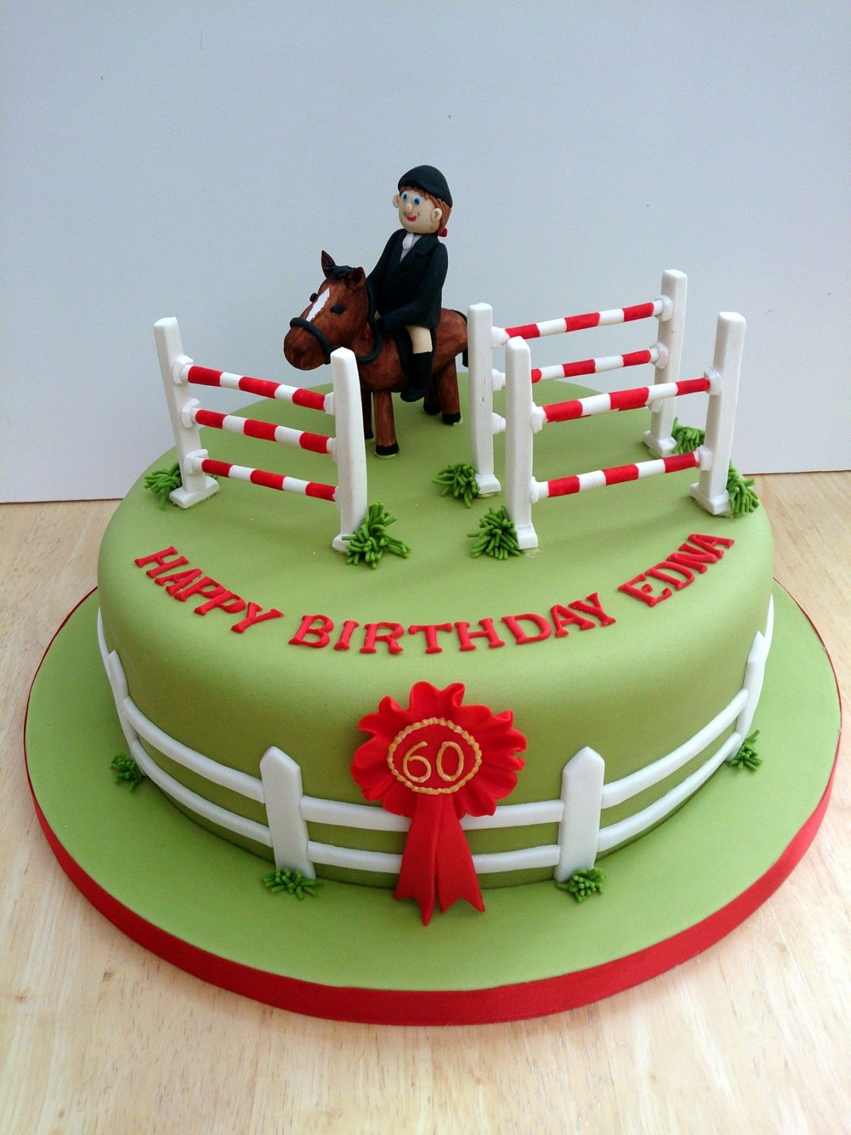 Show Jumping Cake