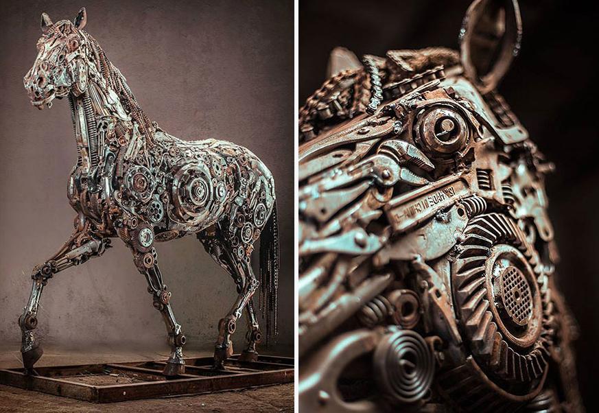 Steampunk Horses