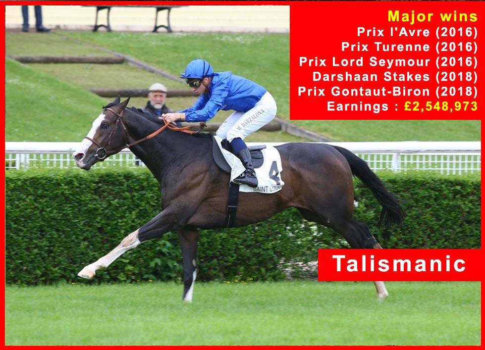 Talismanic - Race Horse