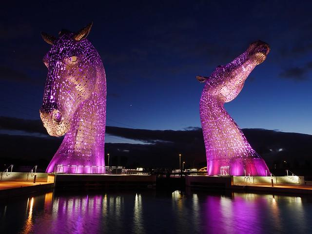 The Kelpies, Scotland - Sculpture By Andy Scott