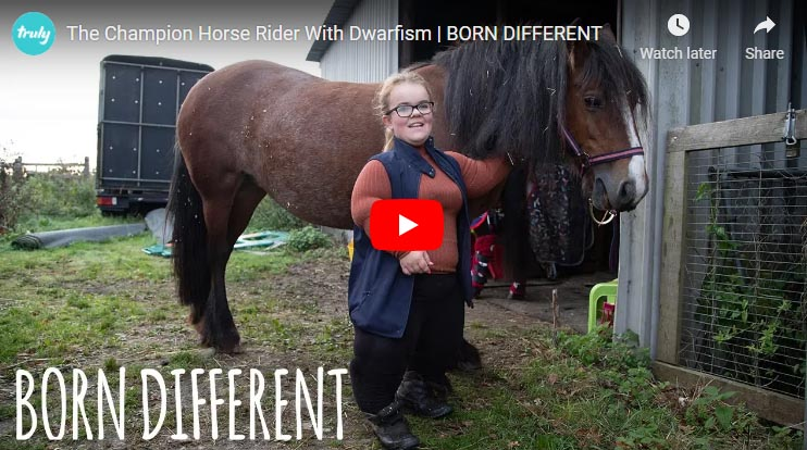 The Champion Horse Rider With Dwarfism