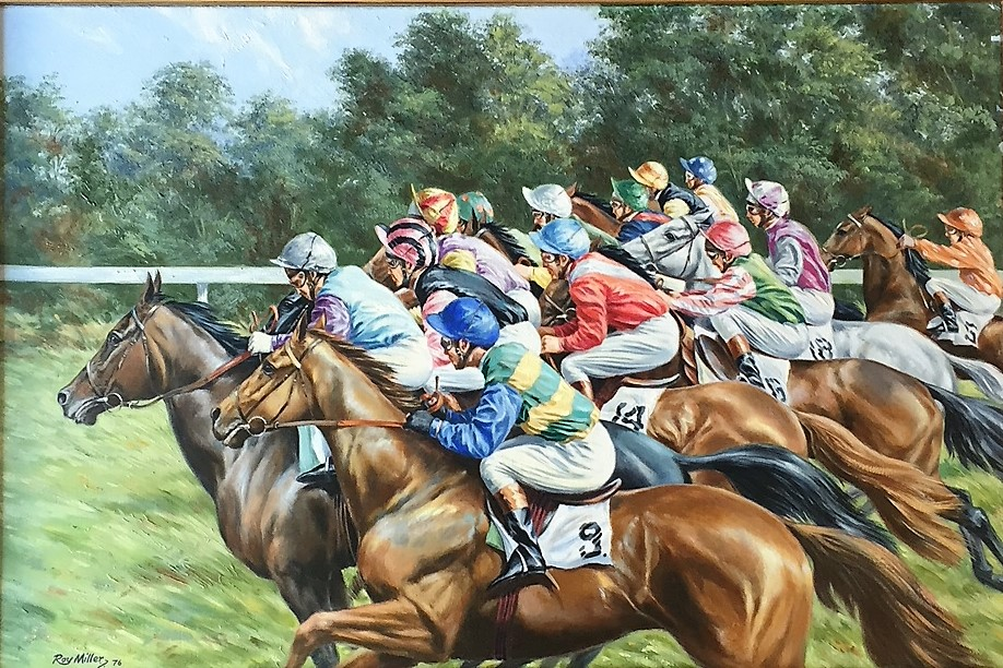 Roy Miller - Equestrian Artist