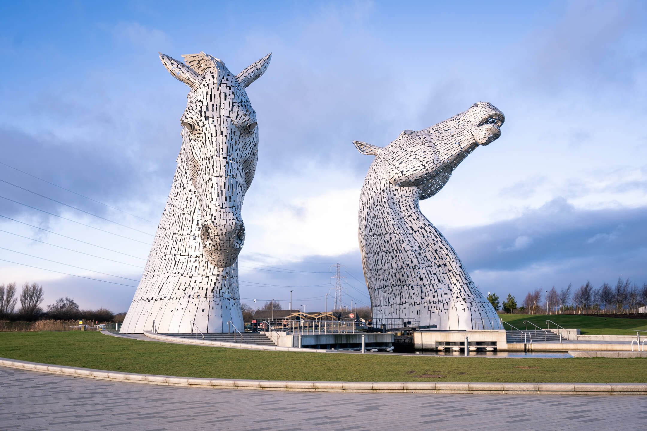 The Kelpies, Scotland - Sculpture by Andy Scott