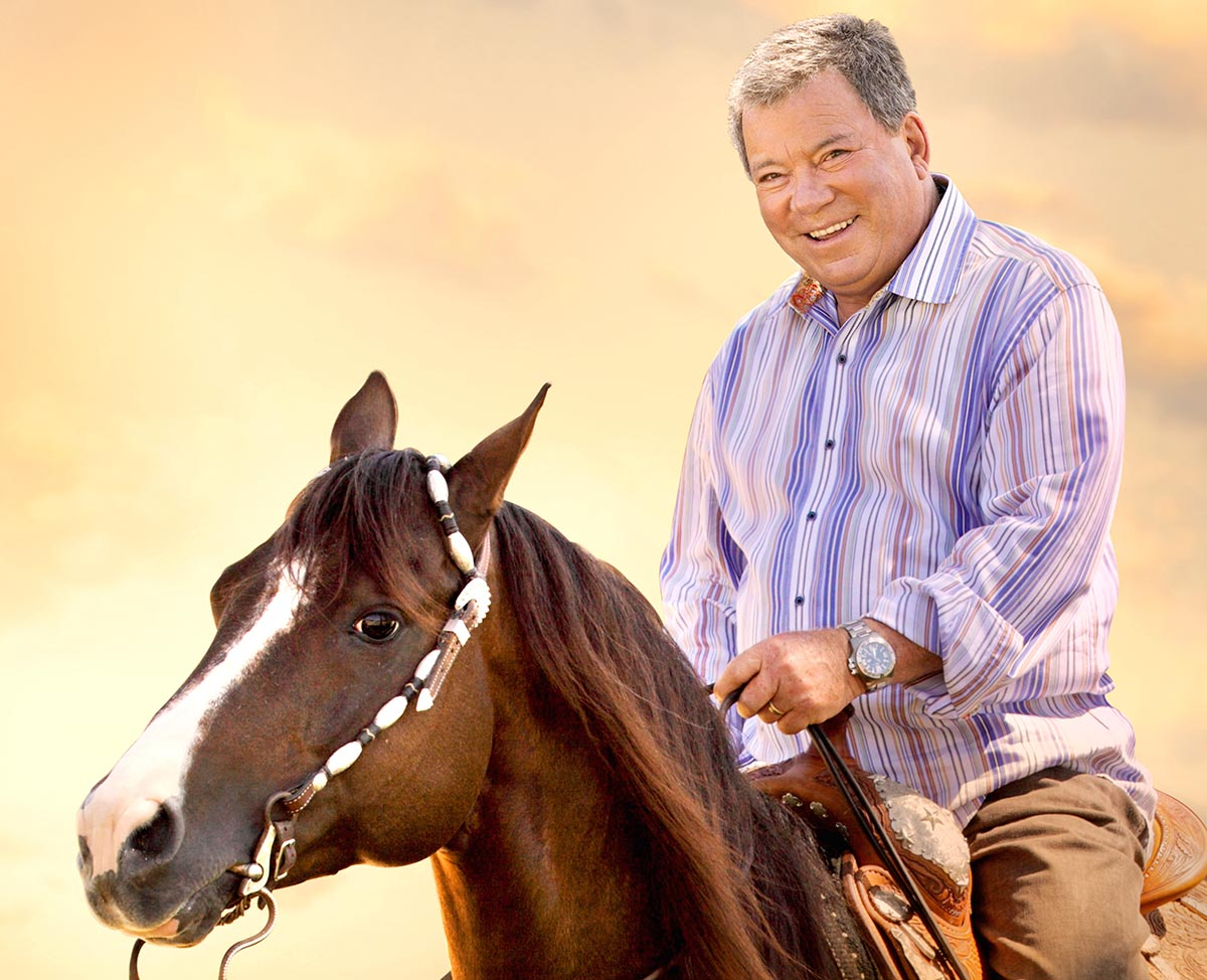 William Shatner - Horse Rider