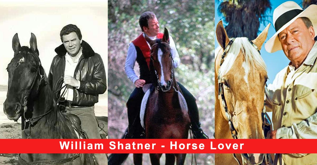 William Shatner - Horse Lover