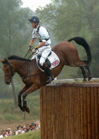 Olympic Eventer Tamarillo & William Fox PItt