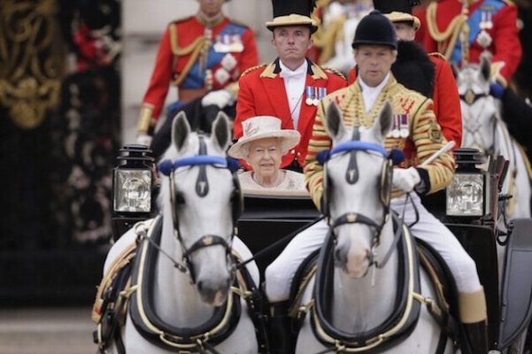 Windsor Grey, the gray carriage horses of British Royalty