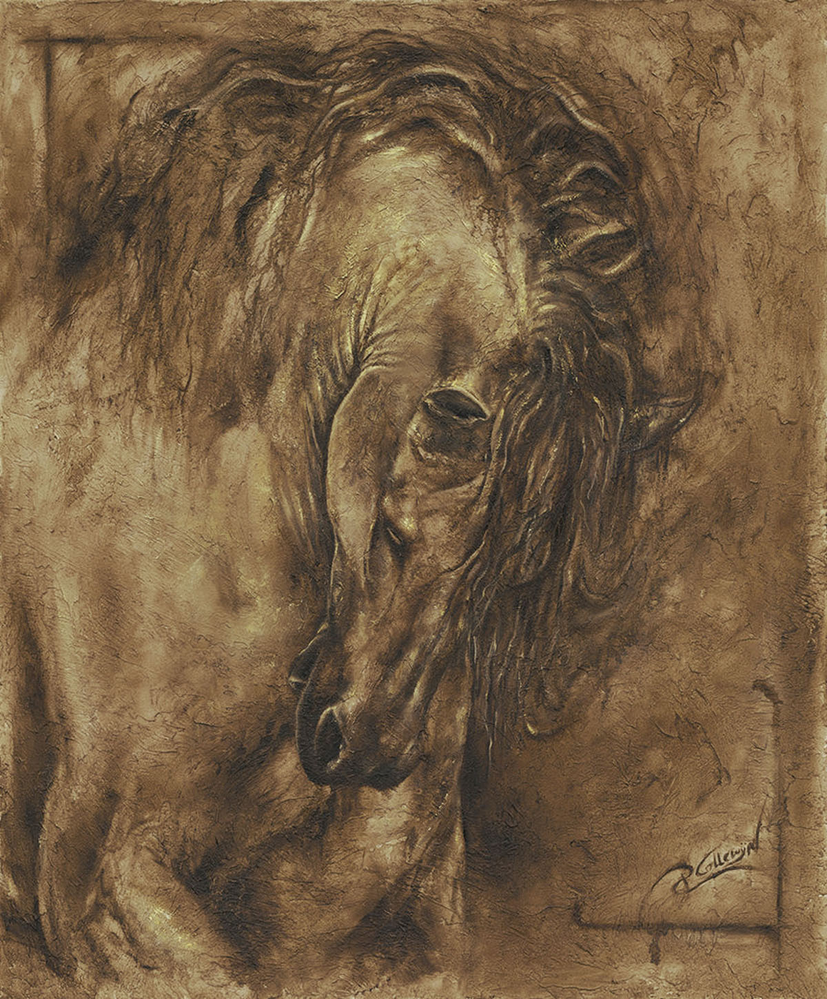 equestrian horse paintings