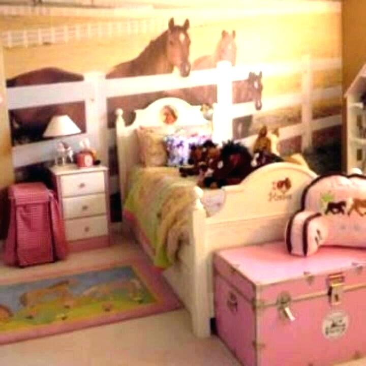 horse themed bedrooms for girls