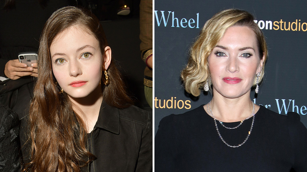 mackenzie foy & kate winslet - Black Beauty