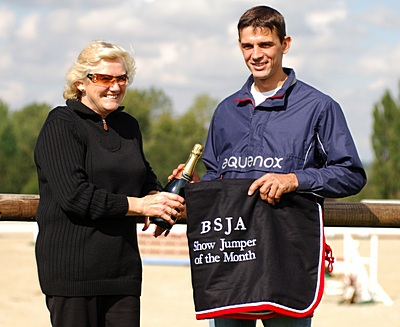 Paul Barker - BSJA showjumper of the month